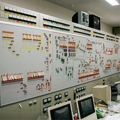 配合プラント中央監視盤